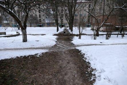 Теплотрасса к дому №54 проспекта Независимости (бывший Ленина)