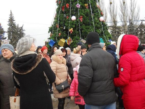 Архиерейская елка в честь Рождества