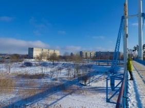 Многоэтажки в районе улицы Харьковской