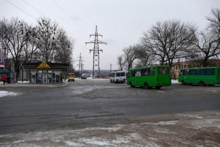 Кольцо маршрутных автобусов по проспекту Независимости (бывший Ленина)