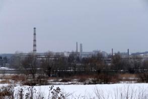 Промышленный город