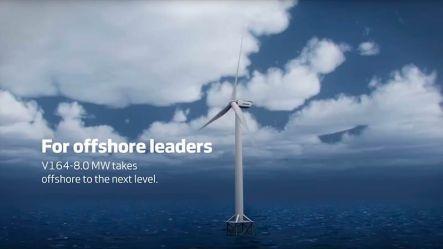 Мега турбина ветровой электростанции