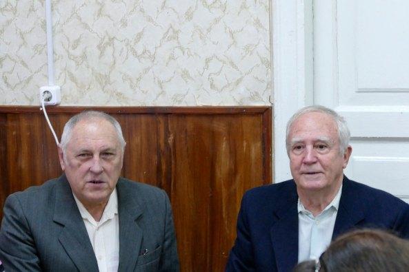 Михаил Кузнецов и Борис Мосюр