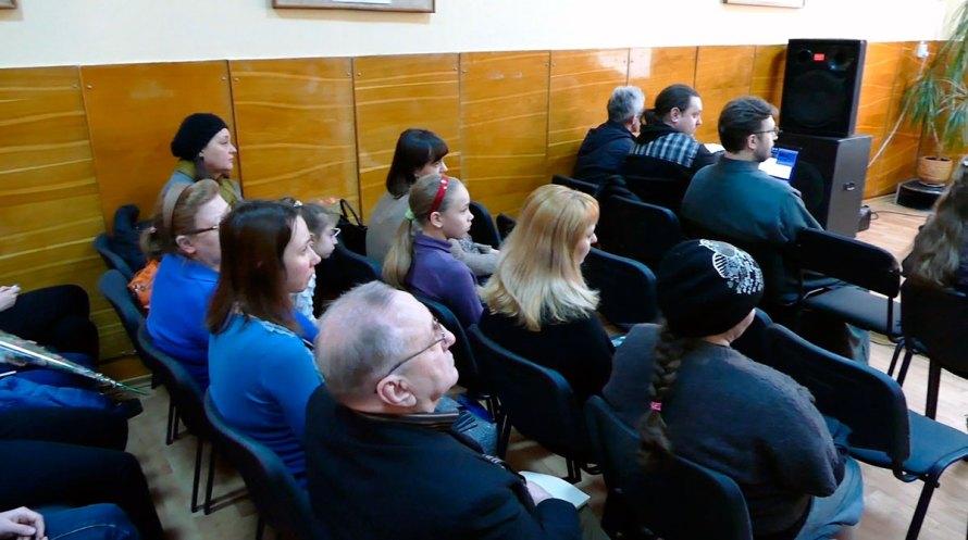 Среди зрителей концерта скрипичной музыки «З Україною в серцi» Редько Григорий Федорович