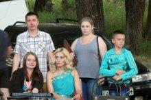 Лидия Горелова в центре