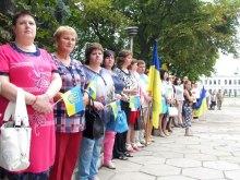 День Государственного Флага Украины в Изюме, август 2017 года