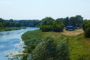 Живописное место проведения фестиваля «Дорога на Схід» в Изюме