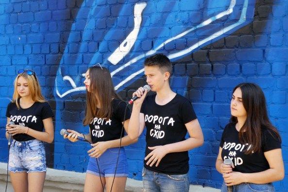 Молодежный музыкальный коллектив из Луганской области исполнил песню «Привет, Джуд» (Hey Jude) группы Битлз (The Beatles)
