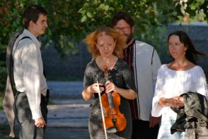 Юлия Шилько перед концертом