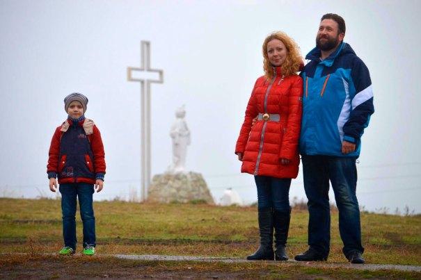 Богдан, Юлия и Дмитрий