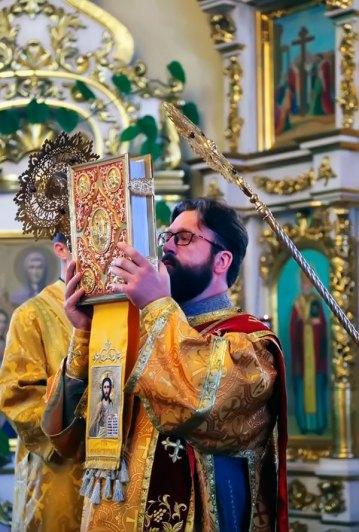 21 октября 2017 года, в канун 20-й недели по Пятидесятнице, в день памяти святых отцов VII Вселенского Собора, апостола Иакова Алфеева