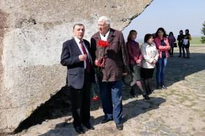 Богдан Сидор (бывший мэр гоорода Изюма) и Леонид Гребенюк