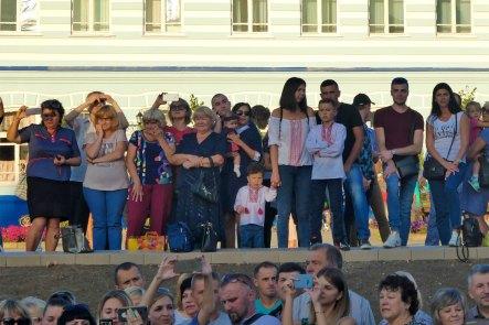 Празднование Дня Независимости Украины в Изюме 24 августа 2018 года
