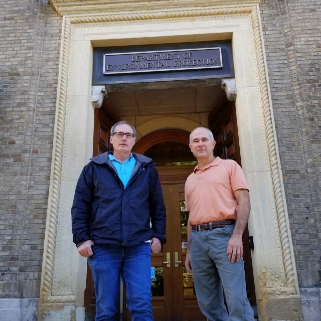 Kiernan Wholean and James Grillo