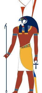 Horus, god of vengeance, sky, protection, and war