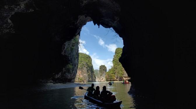 Kayaking Sea Caves in Phang Nga Bay Area