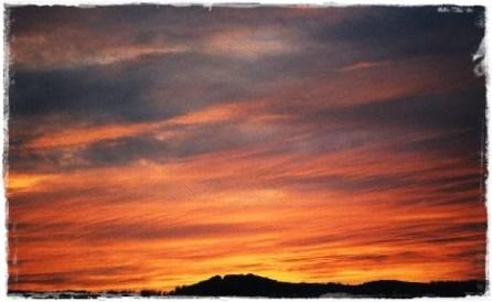 Sunset, Inverness