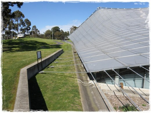 The Myer Music Bowl. FYI, I used to sleep next to the little wall running vertically up from the bottom of the picture...