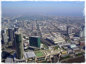 Melbourne Aerial View (from Rialto Tower)