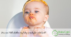 babycalm weaning workshop