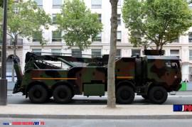 A French Army Iveco PPLD of the 8e Régiment du Matériel (8e RMAT), Paris, July 14, 2016.
