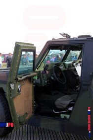 Swiss Army Schiesskommandantenfahrzeug Mowag 4x4 at AIR14, Payerne, September 2014.