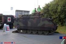The Swiss Army Feuerleitpanzer 63/97 Art INTAFF M113 at AIR14, Payerne, September 2014.