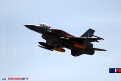 The Hellenic Air Force 335 Mira F-16C Block 52+ Fighting Falcon, NATO Tiger Meet, Zaragoza Air Force Base, 05/2016.