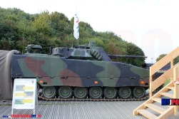 The Swiss Army Kdo Schützenpanzer 2000 CV9030 at AIR14, Payerne, September 2014.