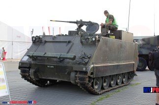 The Swiss Army Sappeurpanzer 63/05 M113 at AIR14, Payerne, September 2014.