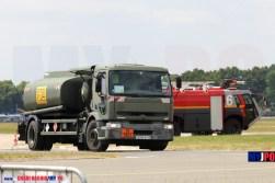 French Army Renault Premium 300 aircraft refueling truck (Avitailleur) of the Service des Essences des Armées (SEA), Paris Air Show, Le Bourget, 06/2015.