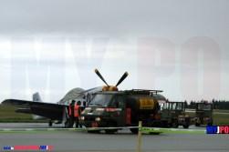 French Army Renault B70 aircraft refueling truck (Avitailleur) of the Service des Essences des Armées (SEA), BA105, Evreux, 07/2007.