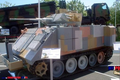 GIAT M113 BRENUS, Eurosatory, 06/2006.