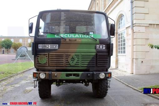 French Army Renault TRM 2000 of the Escadron de Circulation Routière, 526e Bataillon du Train, Mont Valérien, Journées du Patrimoine 09/2013