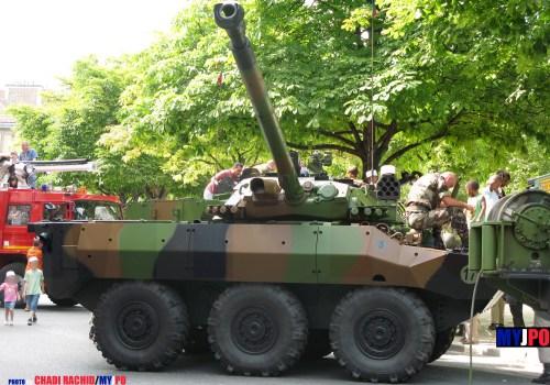 French Army AMX-10 RCR of the 1er Régiment Etranger de Cavalerie (1er REC), Place de la Nation, Paris, 14 juillet 2009.