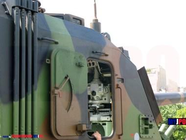 French Army AMX AuF1 TA of the 40e Régiment d'Artillerie (40e RA), Esplanade des Invalides, Paris, July 14, 2008.