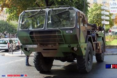 French Army MFRD (Moyens de Forage Rapide et de Destruction) of the 19e Régiment du Génie (19e RG), Esplanade des Invalides, July 14, 2010.