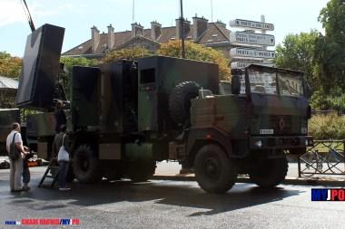 French Army Renault TRM 10000 COBRA (COunter Battery RAdar) of the 40e Régiment d'Artillerie (40e RA), Place de la Nation, July 14, 2010.