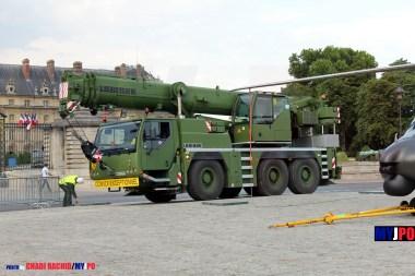 French Army Liebherr LTM 1055-3.1, Esplanade des Invalides, Paris, July 14, 2010.