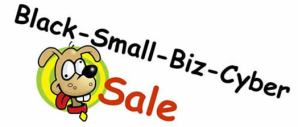 Black Friday Small Business Cyber Monday Sale