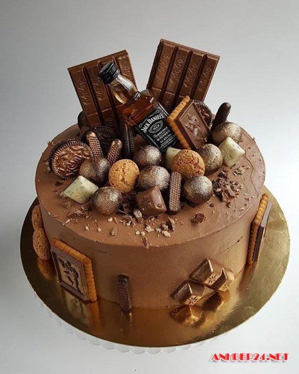 Торт мужу на день рождения (37 фото)