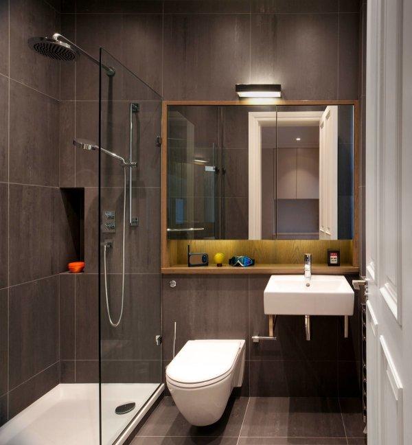 Дизайн ванных комнат небольших размеров (65 фото)