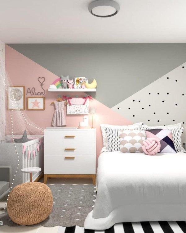 Пастельный дизайн комнат для девочек и мальчиков (48 фото)