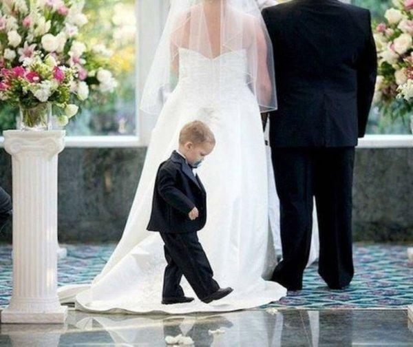 Свадебные фотографии с детьми (36 фото)