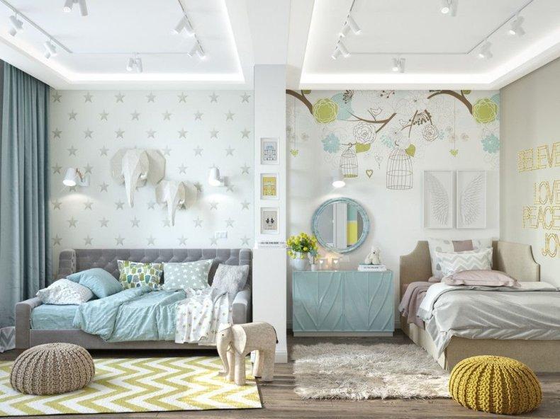 Цвета для детской комнаты - 11