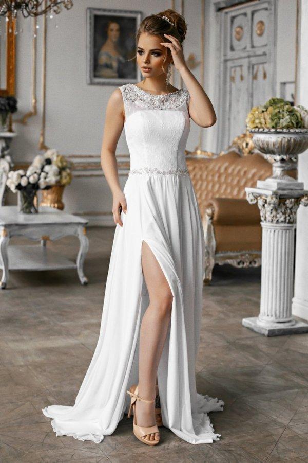 Вечерние платья в греческом стиле (52 фото)