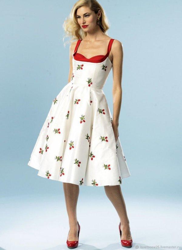 Платья 60 х годов (36 фото)