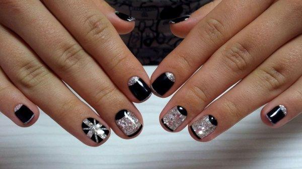 Дизайн ногтей шеллак на короткие ногти (34 фото)