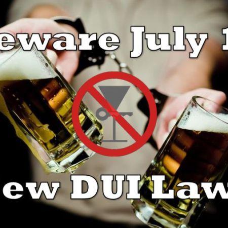 New Taiwan DUI Laws