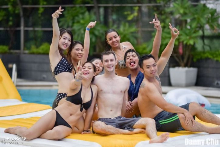 Kaohsiung Brickyard Summer Pool Party